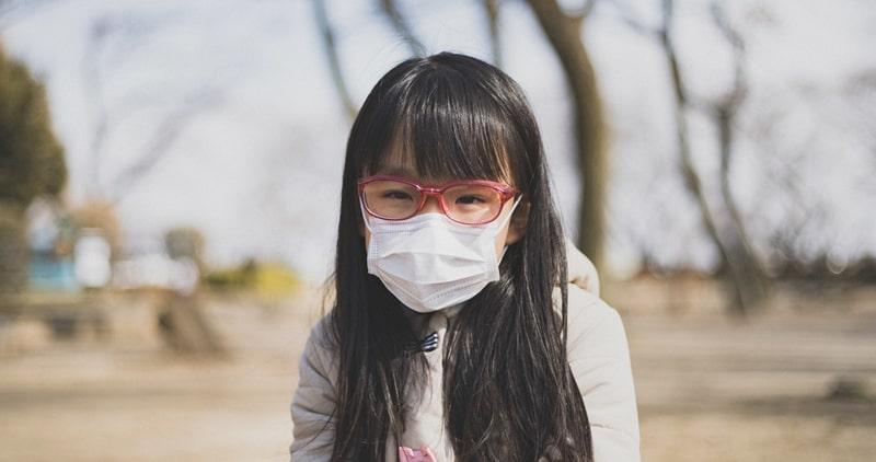 コロナウイルス マスク効果 アイキャッチ画像