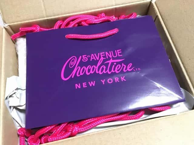 5th Avenue Chocolatiereの専用袋